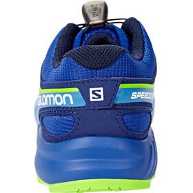 Salomon Speedcross Shoes Junior Surf The Web/Cloisonné/Green Flash